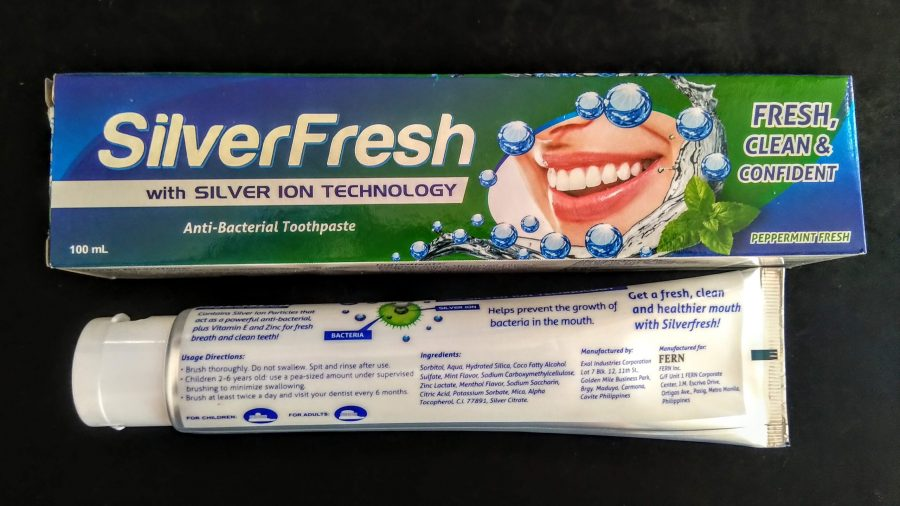 Silverfresh All Natural Toothpaste